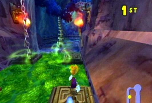 Go Rayman Go! Eindelijk multiplayer, en wat voor een. 24 verschillende gebieden!