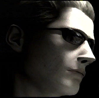 En dit is super badguy Albert Wesker, die al in eerdere delen is verschenen.