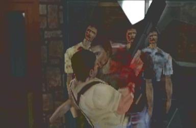 Resident Evil 2 zit vol met bloed, jammer dat het ietwat gedateerd is.