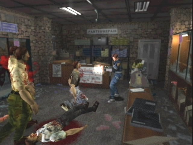 In dit deel maken de zombies Raccoon City onveilig