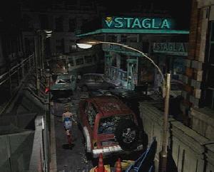 Raccoon City lijkt wel een spookstad in Resident Evil 3.