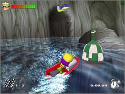 Een race over het water! Zal Reggie snel genoeg zijn?