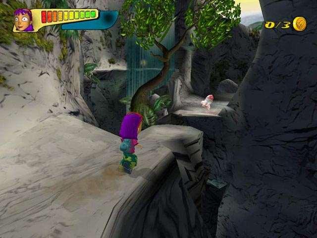 In Rocket Power Beach Bandits zijn er niet alleen sportmomenten, maar je zult er ook voor moeten zorgen dat je het overleeft in de platformstages.