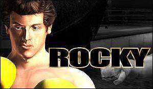 En om hem gaat het allemaal... Rocky!