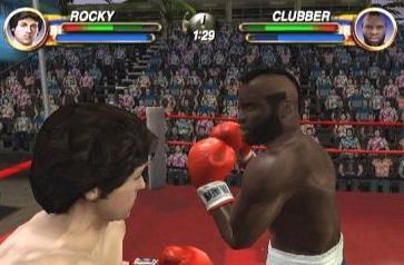 Rocky tegen Clubber