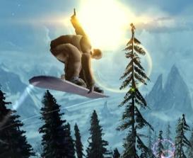Dit is een snowboard hoor, geen airboard!!!