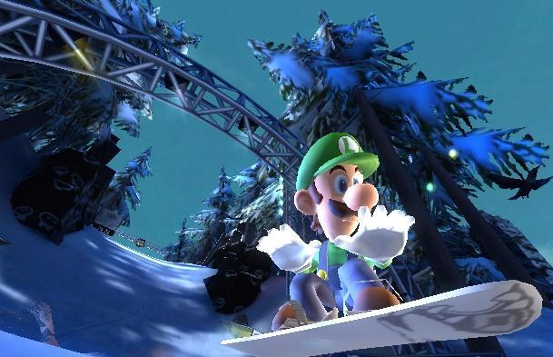 Luigi is ook weer van de partij.