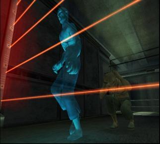 Dit spel is grafisch wat vergelijkbaar met de James Bond spellen.