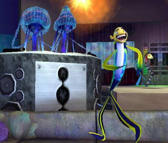Laat Oscar dansen in de dans levels met muziek van MC Hammer en Outkast.