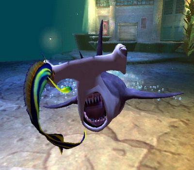 wha! pas op shark tale!