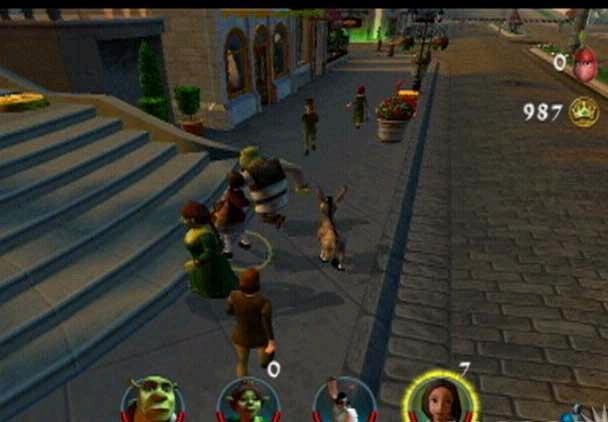 Shrek en zijn vrienden nemen het op tegen de rest. Kun jij het aan?
