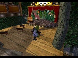 Shrek extra Large is gebaseerd op de films van Shrek, maar heeft een geheel eigen verhaallijn.