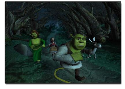 Shrek zijn trouwe vrienden staan weer paraat om hem te helpen