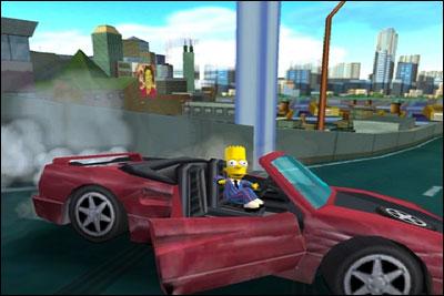 Bart heeft een mooie auto gevonden, was gewoon van de vrachtwagen af gevallen?!