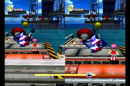 Metal Sonic vs Amy