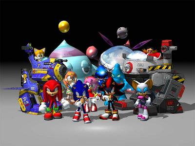 Alle personages van Sonic Adventure 2 Battle