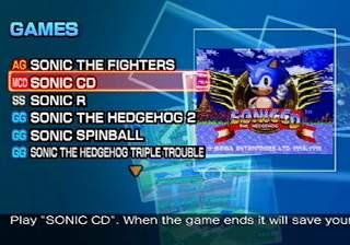 Het scherm om een spel te kiezen!
