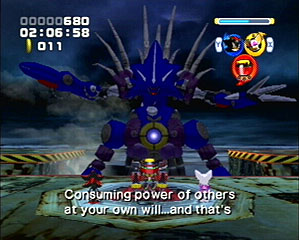 Metal sonic is in the house.