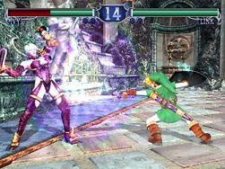 Groen stofje tegen paars leer. Of Master-zwaard tegen transformerende zwaardzwiep.