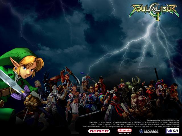 Dit zijn alle vechters in het spel! Met natuurlijk Link!