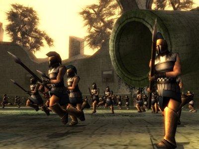 Het spartaanse leger, klaar voor de aanval!