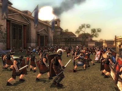 Je bent een echte Spartaanse strijder in dit spel. Hak je vijanden in de pan!