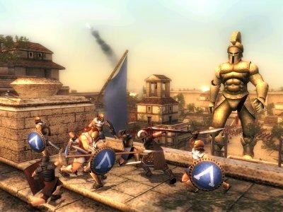 Vecht als een spartaanse held!