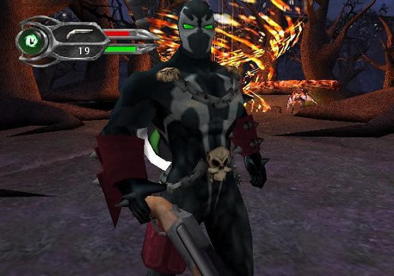 Het spel is geïnspireerd door de comics van Spawn en gemaakt met de hulp van schrijver Todd McFarlane.