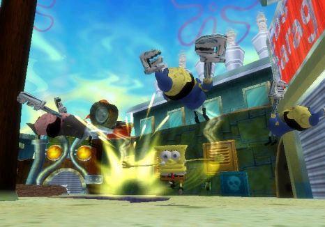Niets lijkt Spongebob in de weg te staan voor opnieuw een stralende dag!