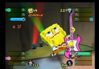 Dit spel maakt erg leuk gebruik van de SpongeBob licentie. Grappige filmpjes en een leuk verhaal!