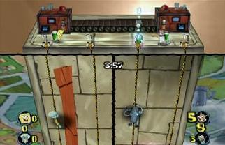 In tegenstelling tot Mario Party volgen de mini games hier snel achter elkaar.