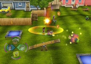 Je kunt zelfs in Jimmy`s achtertuin spelen!