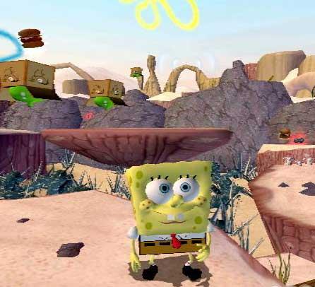 Heerlijk zonnetje, maar nóg geler wordt je niet hoor Spongebob!