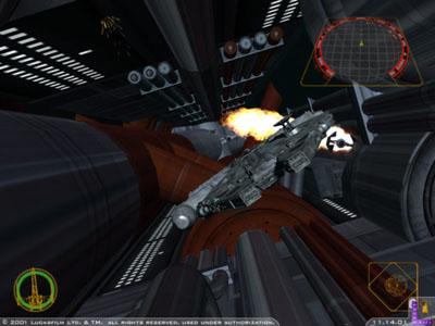 Ontzettend lauw dat je in de de stadjes van Star Wars kan vliegen en dan ook nog in 3d!