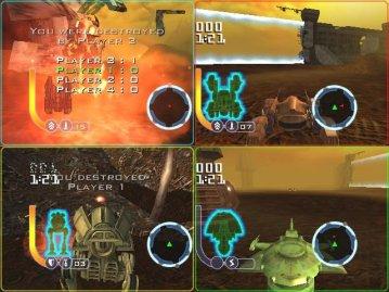 De multiplayer mode is zeer variërend en leuk!