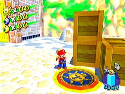 Druk op X Mario dan help ik je
