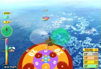 Super Monkey Ball draait niet alleen om de parkoers, maar ook om de vele minigames die je tot vier spelers kan doen.