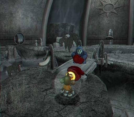 Voor het eerst in monkey ball zijn er ook levels binnenshuis!