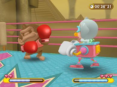 De optie `monkey fight` is ook weer aanwezig :D