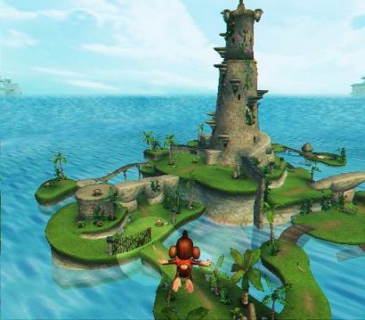 De graphics zijn een stuk verbetert, het spel ziet er veel mooier uit dan de vorige Monkey ball spellen!