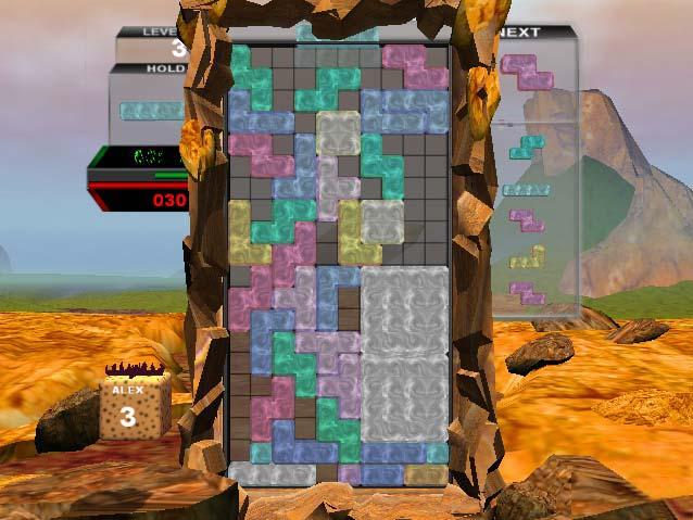 Tetris, het spelletje dat iedereen wel kent, nu ook voor de gamecube!