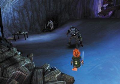De grotten zijn eng en zitten vol met monsters!