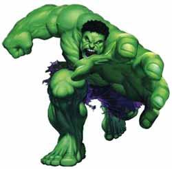 Berg je, als The Hulk je pad kruist!