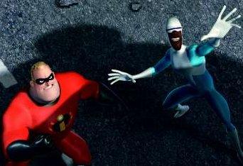 Wordt een super team met een vriend of vriendin. De een speelt dan met Frozone en de ander met Mr. Incredible!