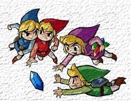 De Force Gems geven de Links een krachtiger zwaard. Aan het einde van een level (bij multiplayer) worden de 4 Links beoordeeld op het aantal verzamelde Force Gems.