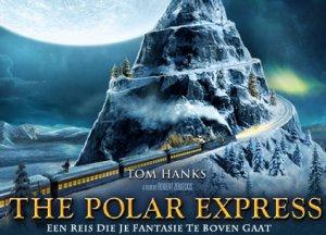 The Polar Express, een reis die je fantasie te boven gaat. (Er staat iemand op het dak! Is dat Tom Hanks?!?)
