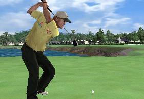 In Tiger Woods PGA Tour 2005 kun je veel aanpassen aan je eigen wensen. Schedel groote, huidskleur en natuurlijk je swing!