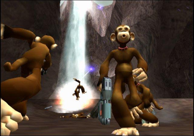 De monkeys zijn ook van de partij