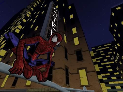Het lijkt net of Spider-Man zo het stripboek uitgeslingert is!