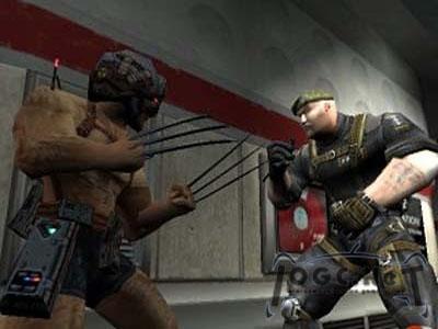 Soldaten hebben het moeilijk in het mutante wereldje...